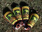 New Buffalo Striker Shin Pads  2 Sizes Plus 2 Buffalo Garter Sock Ties