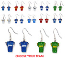 NFL Football Team Logo Womens Ladies Glitter Jersey Earrings Pick Your Team $7.25 USD on eBay
