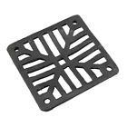 """Black Cast Grate Cover Square Drain Man Hole Gully Grid Covers 5"""" 7"""" 9"""" 12"""""""