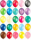 """10 Latex Balloons - 12"""" Inch - 20 Colours To Choose - Helium Quality Party Air"""