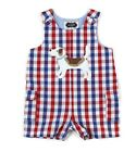 Mud Pie Puppy Shortall Baby Boys 3M-18M #1032187 NWT