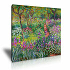 Claude Monet Garden in Giverny Canvas Modern Home Office Art Wall Deco Many Size