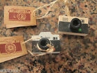 Vintage Retro Rubber Stamp Camera Choice Of Two Designs Novelty Craft Gift