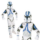 Childrens 501st Clone Trooper Rubies New Official Star Wars Fancy Dress Costume