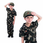 Boys Soldier Costume Rubies New Official Kids Military Fancy Dress Army Outfit