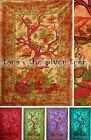 6Colour TREE OF LIFE Hippy THROW Sofa BEDSPREAD Wall hanging DOUBLE uk Supplier