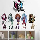 Monster High Girls Wall decal Removable stickers decor art kids nursery Mural