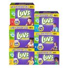 Luvs, Ultra Leakguard Diapers, PICK SIZE 1, 2, 3, 4, 5, 6