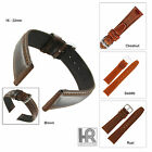 Hadley Roma MS881 Oiled Tanned Leather Padded Watch Band Special Order