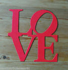 Word Die Cuts - Lrg. Love - Valentines Day - Wedding - Scrapbooking/Cardmaking