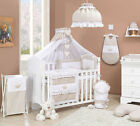 CRADLE BABY COT+BABY BEDDING SET A LOT OF PIECES