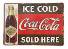 Coca Cola Coke Vintage CCC01 Giant Large WALL ART Poster A0 A1,A2,A3,A4 £3.29  on eBay