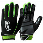 "KOOKABURRA ""GRAVITY"" HOCKEY TRAINING GLOVES (LIME/BLACK) - PAIR.  FREE POSTAGE."
