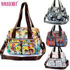Women Lady small shoulder messenger hobo Tote bags handbag purse waterproof bag