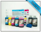 Epson Stylus Pro 7600 compatible Refillable Starter Kit  - Carts + 7 x 250ml Ink