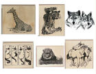 CORONADO ISLAND ART RUBBER STAMPS 17 DESIGNS TO CHOOSE FROM