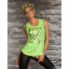 Sexi top maglia canotta New York City casual donna sexy canottiera trendy moda