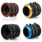 HOT?Metal Auto Focus AF Macro Extension Tube / Ring for Kenko CANON EOS EF-S Lens