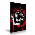 Pulp Fiction Mia Wallace Canvas American Crime Film Modern Wall Art Deco 9 Sizes