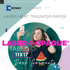 "Laser 1 Opaque Dark Shirt Heat Transfer Paper 8.5"" x 11"" / 11"" x 17"" :)"