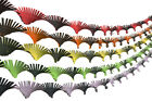 Crepe Paper Hand Fringed Ceiling Decoration Streamer Party Wedding Christmas AM2