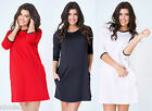 Sexy New Women MATERNITY Dress Tunic Pregnency Cocktail Party Size 8 10 12 14