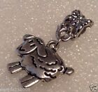 Bead/charm spacer dangle clipon  Necklace Sheep ANIMALS  CN125