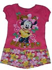 NWT Genuine Disney Toddler Girls T Shirt MINNIE MOUSE I'm a Keeper set FREE SHIP