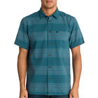 Quiksilver Redondo Mens Shirt Short Sleeve - Washed Navy All Sizes