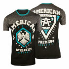American Fighter Wesley T-Shirt (Black/Gray/Blue)
