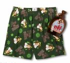 Elf Will Ferrell Winter Boxers Mens Briefs Underwear Shorts Collectible Bottle