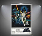 Star Wars Vintage Movie Canvas Print - A0 A1 A2 A3 A4 £19.0 GBP