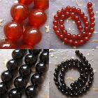 Hot 3-10mm Charming Red Onyx Agate Stone Round Loose Beads