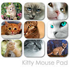 CATS KITTY CUSTOM MOUSE PAD FRIENDS PERSONALIZED PHOTO FAMILY MOUSEPAD  (CM-03)