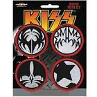KISS - OFFICIAL SEW ON PATCH logo army icons sonic boom rock n roll patches
