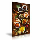 FOOD & DRINK Spice Pepper Canvas Framed Printed Wall Art 41 ~ More Size