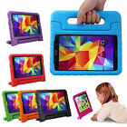 Handheld Safe Heavy Duty Shockproof Rubber Case Cover Stand For Samsung Tablet