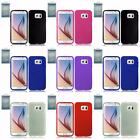 For Samsung Galaxy S6 Retail Package Solid TPU Flexible Gel Candy Cover Case