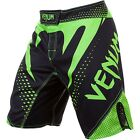 Venum Hurricane Fight Shorts (Black/Neo Yellow)