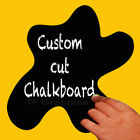 Self Adhesive Blackboard/Chalkboard Vinyl Wall Decal - 12 Sizes & 20 Shapes