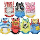 LittleSpring Baby Rompers Sleeveless Cartoon Baby Clothes Summer Bodysuit L0089