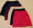 BOYS GIRLS CHILDRENS SCHOOL SPORTS SHADOW STRIPE PE SHORTS  AGE: 2-12 YEARS NEW!