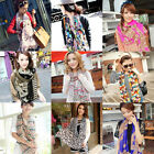 Women's Fashion Girl's Vintage Long Soft Chiffon Scarf Wrap Shawl Stole Scarves