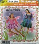 Simplicity Sewing Pattern 2857 Ladies Fairy Ballet Demi Dance Costume Pick Size