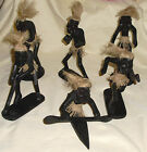 Sporting asmat figures