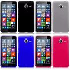 For Nokia Lumia 640 XL Frosted Matte TPU Flexible Thin Gel Cover Case