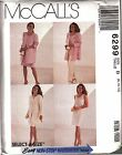 McCall's 6299 Women's Unlined Jacket, Top, Skirt, Pants Sewing Pattern UNCUT