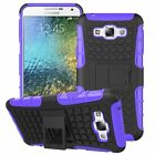 Samsung Galaxy E7 Dual Layer Shockproof Cover Hybrid Rugged Case with Kickstand