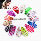 1Pcs New Fashion Punk Rock Skeleton Skull Hand Claw Hair Clip Barrettes for Girl