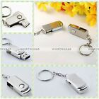 2/4/8/16/32/64GB U Disk Roating Metal USB Flash Memory Drive Stick Pen Thumb HUK